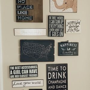 Wall Art - Best Accessories Sign